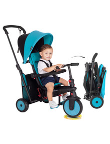 Smart Trike STR3 6-In-1 Trike, Blue product photo