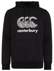 Canterbury New Zealand Themed Hoodie Top, Black product photo