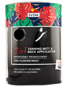 Le Tan 2 in 1 Tanning Mitt and Back Applicator product photo
