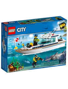 Lego City Diving Yacht 60221 product photo