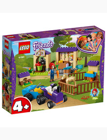 Lego Friends Mia's Foal Stable 41361 product photo