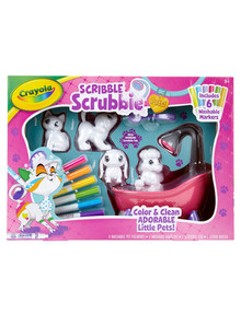 Crayola Scribble Scrubbie Pets Playset product photo