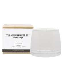 The Aromatherapy Co. Therapy Candle Strength, Sandalwood & Cedar product photo