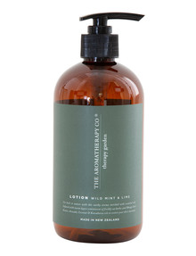 The Aromatherapy Co. Therapy Garden Hand & Body Lotion, Wild Mint/Lime product photo