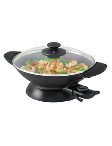 Kambrook Essentials Wok, KEW5BLK product photo