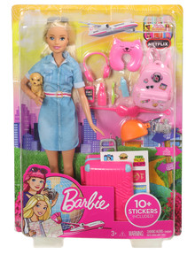 Barbie Travel Doll & Accessories product photo