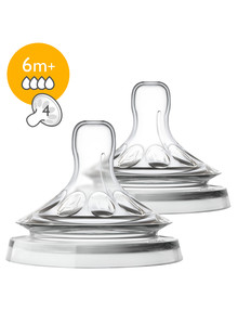 Avent Natural 2.0 Teat, Fast, 6m+, 2-Pack product photo