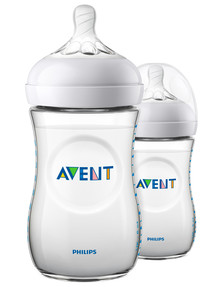 Avent Natural 2.0 Bottle, 260ml, 2-Pack product photo