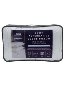 Sleepyhead Hotel Collection Down Alternative Pillow, Lodge product photo
