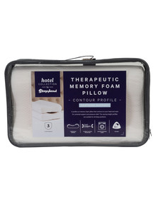 Sleepyhead Hotel Collection Contour Therapeutic Pillow product photo