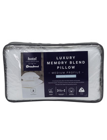 Sleepyhead Hotel Collection Memory Blend Pillow, Medium product photo