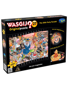 Wasgij 27, 1000 Piece Original Puzzle, The 20th Party Parade product photo