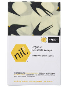 NIL Beeswax Wrap, Medium, Swallow product photo