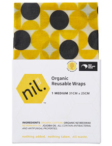 NIL Beeswax Wrap, Medium, Geo product photo