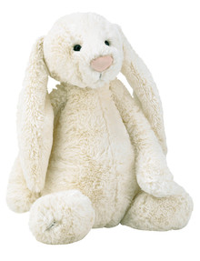 Jellycat Bashful Cream Bunny, Large product photo