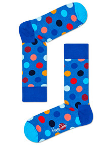 Happy Socks Big Dot Sock, Blue product photo