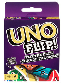 Mattel Games Uno Flip Side Game product photo