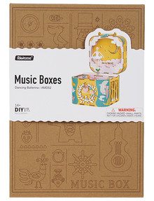 DIY Kits Music Box, Dancing Ballerina product photo
