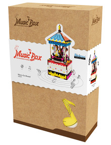 DIY Kits Music Box, Merry-Go-Round product photo