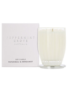 Peppermint Grove Candle 200g, Patchouli & Bergamot product photo