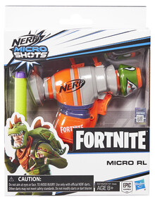 Nerf Fortnite Microshots Blaster, Assorted product photo