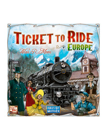 Games Ticket to Ride Europe product photo