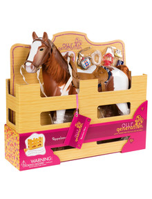 Our Generation Trail Riding 20-Inch Horse product photo