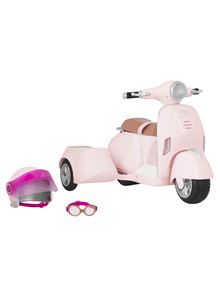 Our Generation Scooter with Side Car product photo