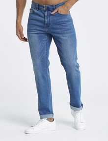 Gasoline Slim Leg Jean, Blue Wash product photo