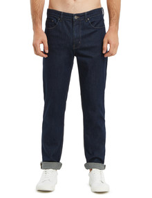 Gasoline Slim Leg Jean, Dark Blue product photo