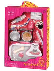 Our Generation Pet Care Accessory Set product photo