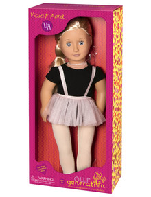 Our Generation Violet Anna Ballet Doll product photo