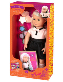 Our Generation Amya Hair Chalk Deluxe Doll product photo