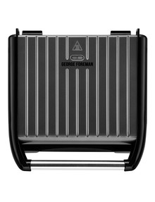George Foreman Jumbo Grill, Stainless Steel, GR25051AU product photo