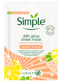 Simple Kind to Skin Radiance Boosting Sheet Mask product photo
