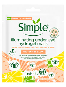 Simple Kind to Skin Brightening Under-eye Hydrogel Mask product photo