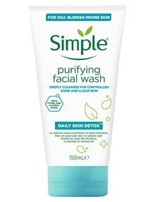 Simple Daily Skin Detox Purifying Facial Wash product photo