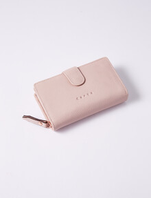 Carte Tab & Dome Wallet, Blush product photo