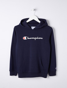 Champion Script Hoodie, Navy product photo