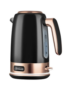 Sunbeam New York Jug Kettle, Black & Bronze, KE4430KB product photo