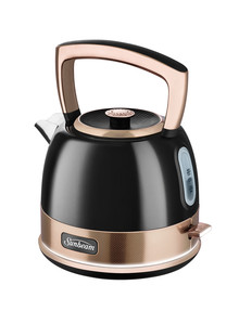 Sunbeam New York Pot Kettle, Black & Bronze, KE4410KB product photo