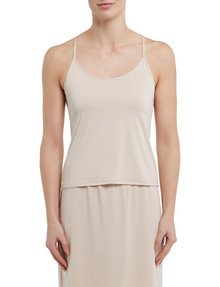 Lyric Microfibre Cami Top, Nude product photo