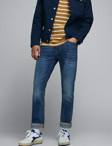 Jack & Jones Tim Slim Jean, Blue-Black product photo