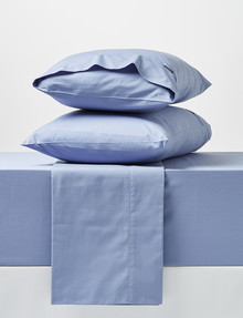 Linen House 250 Thread Count Sheet Set, Bluestone product photo