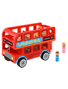 Tooky Toy Wooden London Bus product photo