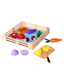 Tooky Toy Wooden Vegetable Set product photo