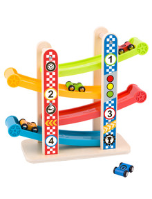 Tooky Toy Wooden Sliding Tower product photo