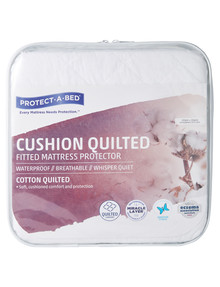 Protect-A-Bed Cushion Quilted Cotton Mattress Protector product photo