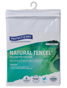 Protect-A-Bed Natural Tencel Pillow Protector product photo