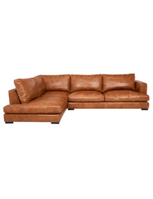 Luca Jenson 3-Seater Sofa with Left-Hand Corner Chaise, Cognac product photo